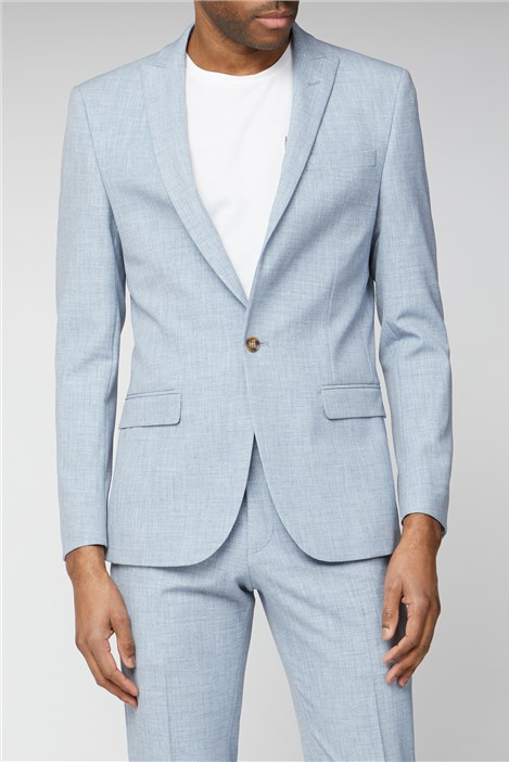 Limehaus Light Blue Slim Fit Suit