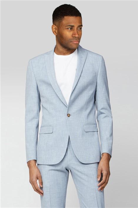 Limehaus Light Blue Slim Fit Suit