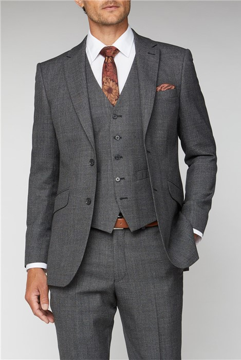 Racing Green Salt and Pepper Birdseye Performance Regular Fit Suit