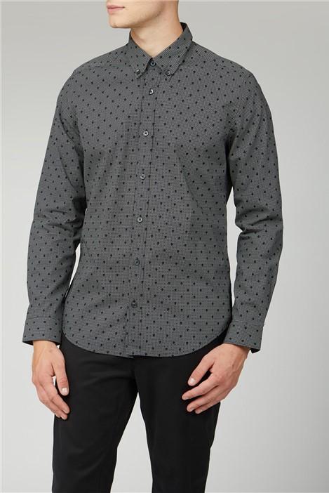 Ben Sherman Inverse Spot Print Shirt
