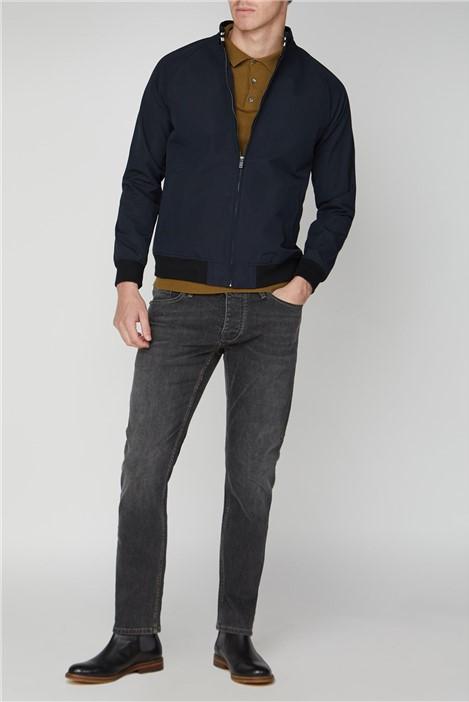 Limehaus Navy Harrington Jacket