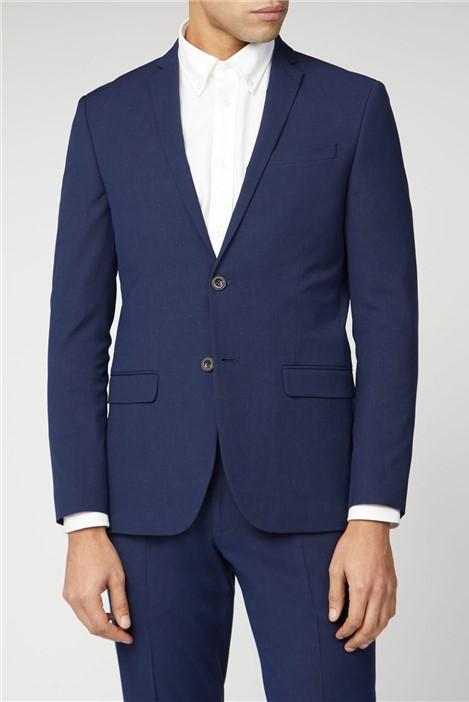 Ben Sherman Blue Rust Fleck Slim Fit Suit Jacket
