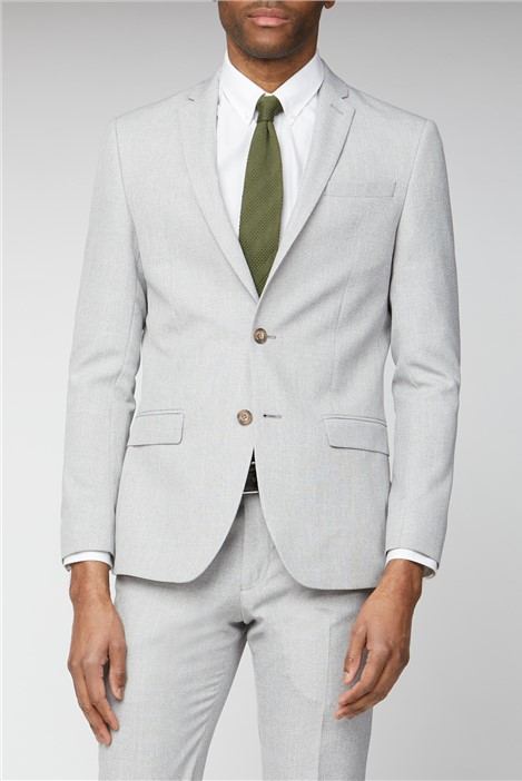 Limehaus Ice Grey Slim Fit Suit