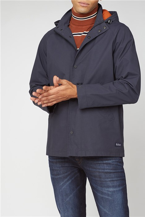 Ben Sherman Hooded Coach Casual Jacket
