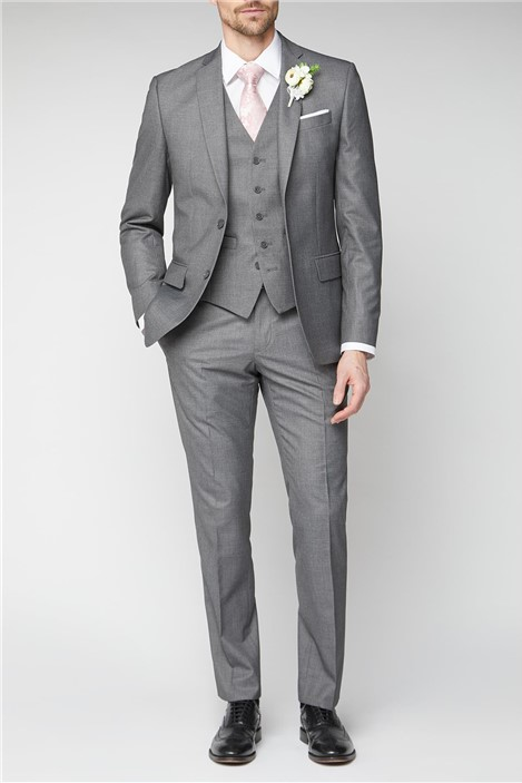 Occasions Grey Regular Fit Suit