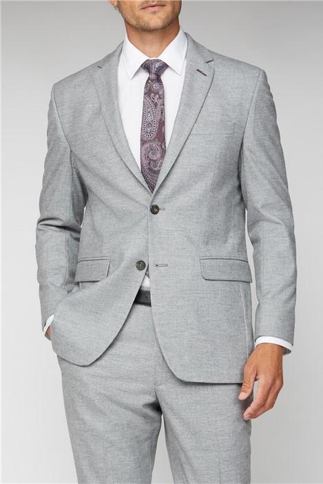 Alexandre Silver Label Cool Grey Flannel Regular Fit Suit