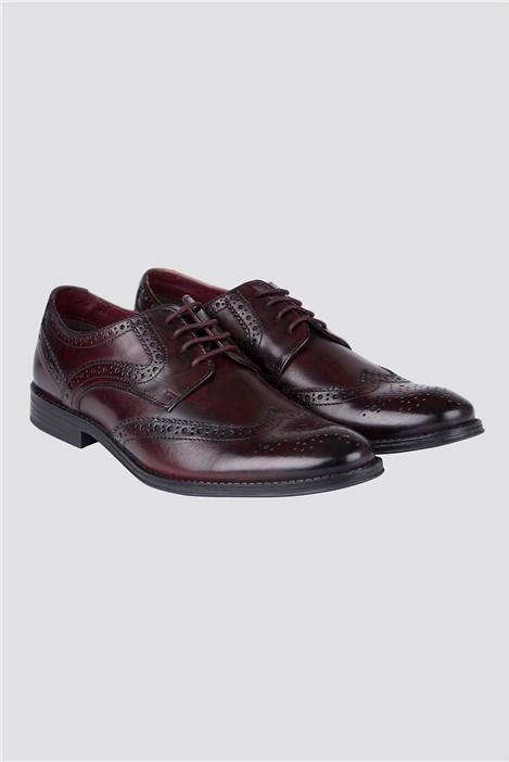 Limehaus Burgundy Brogue