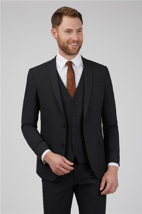 Limehaus Charcoal Slim Fit Suit