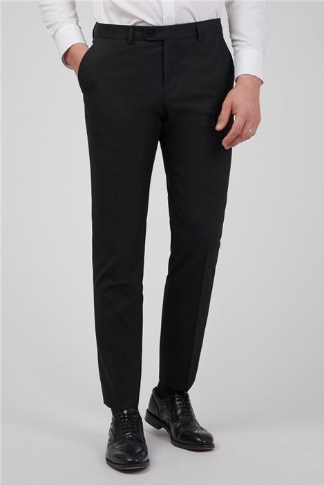Limehaus Charcoal Slim Fit Suit Trouser