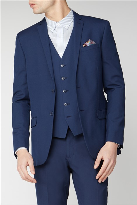 Limehaus Bright Blue Slim Fit Suit