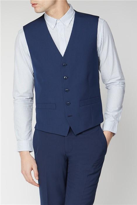 Limehaus Bright Blue Suit Waistcoat