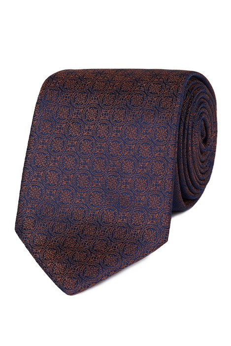 Stvdio Burnt Orange Deco Tie