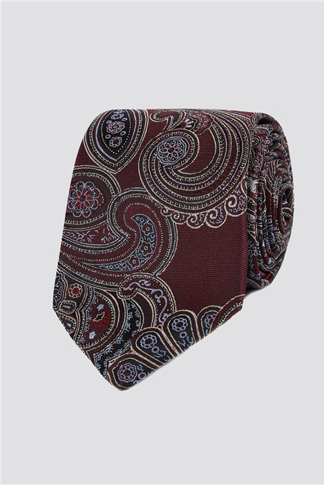 Jeff Banks Outlet Jeff Banks London Navy Diamond Geo Tie