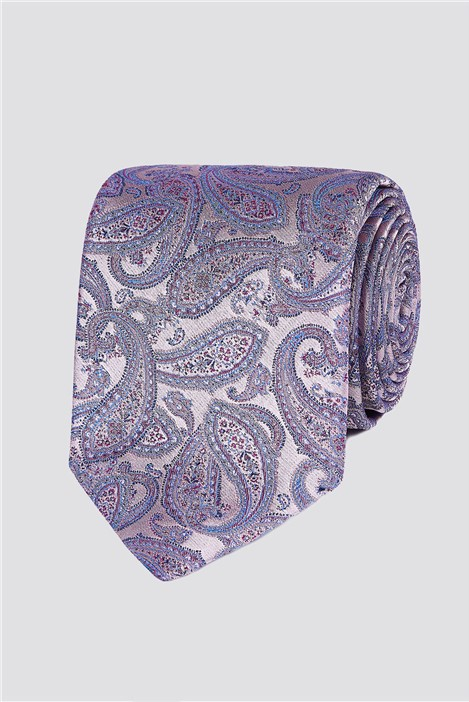 Jeff Banks London intricate Paisley Tie
