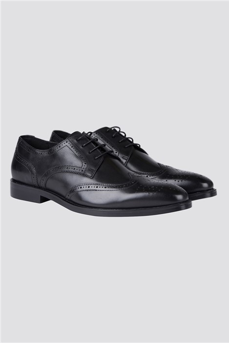 Jeff Banks Black Brogue