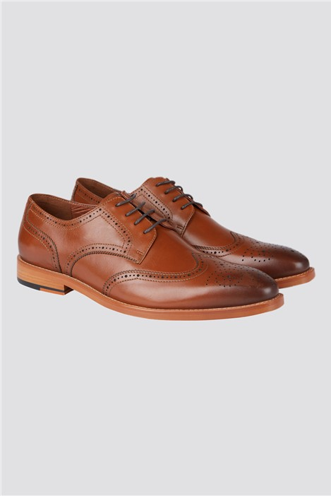 Jeff Banks Tan Brogue