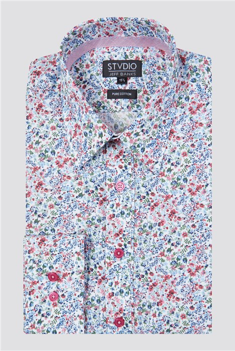 Stvdio Multi Meadow Print Shirt