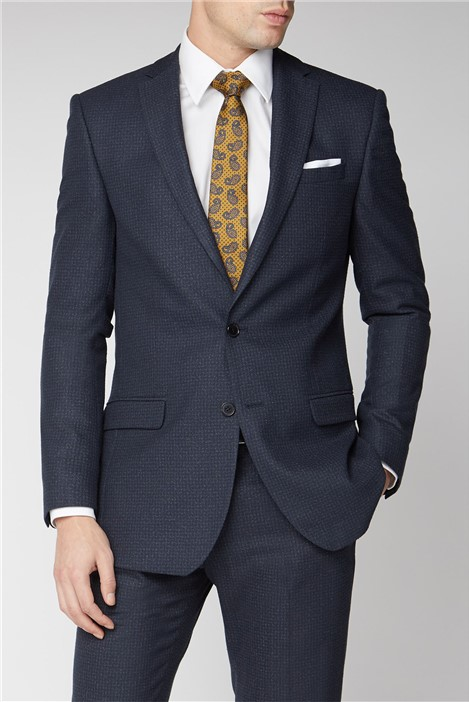 Limehaus Navy Rust Slim Fit Suit