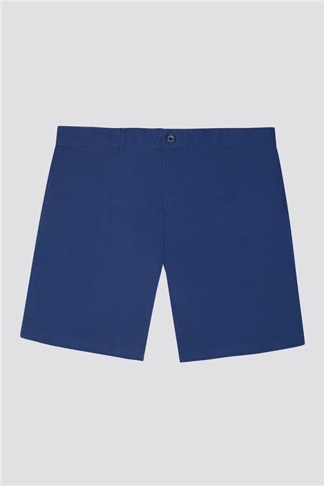 Jeff Banks Navy Stretch Chino Shorts