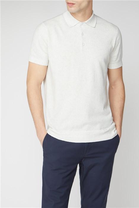 Melka Taube Knitted Polo Shirt