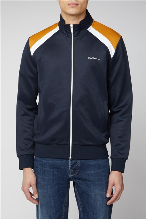 Ben Sherman Tricot Shoulder Panel Sweat Top