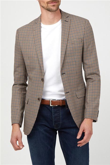 Ben Sherman Heritage Gingham Slim Fit Suit Jacket