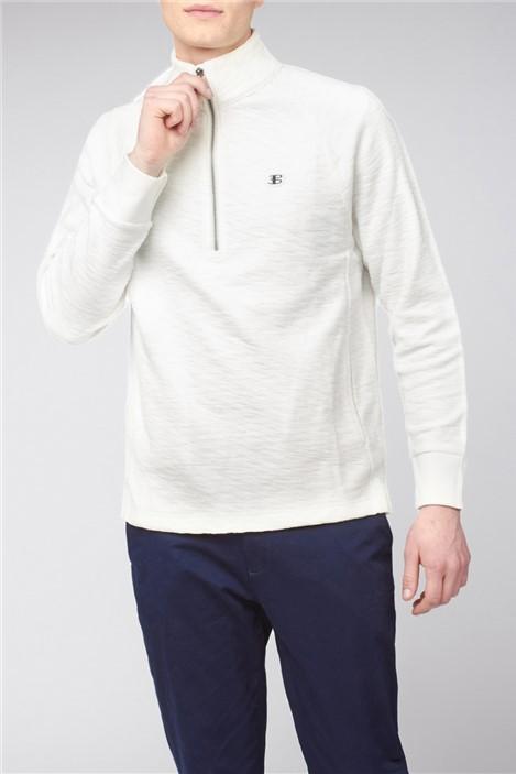 Ben Sherman Loopback Funnel Neck Sweatshirt