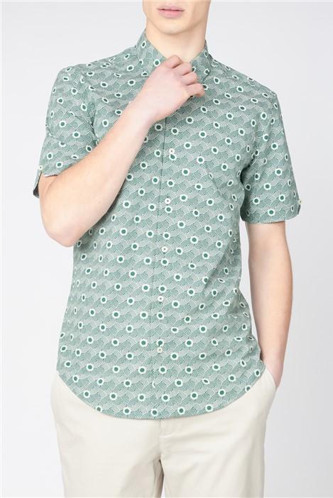 Ben Sherman Retro Print Shirt