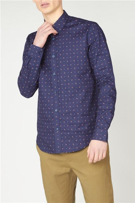 Ben Sherman  Mini Paisley Print Shirt