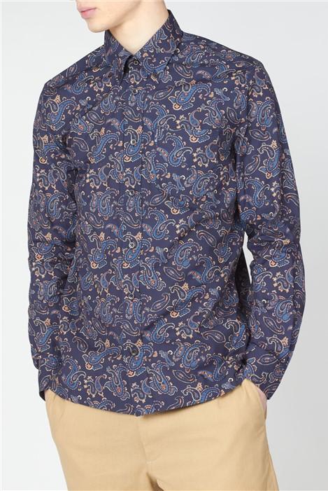 Ben Sherman Large Paisley Print Shirt