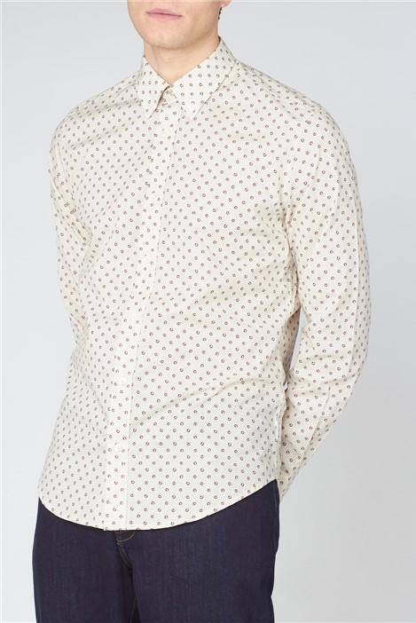 Ben Sherman Target Spot Print Shirt