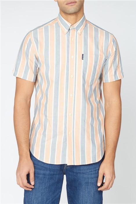 Ben Sherman  Block Striped Shirt