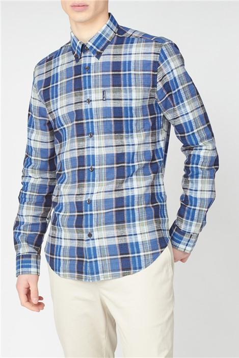 Ben Sherman Slub Madras Check Shirt