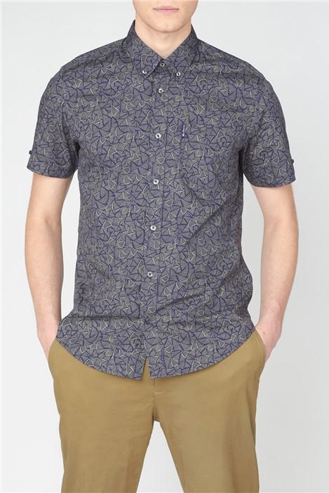 Ben Sherman Linear Print Shirt