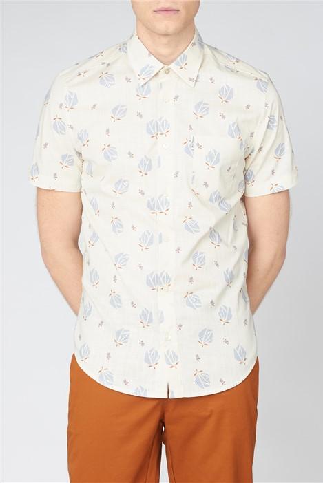 Ben Sherman Abstract Print Shirt