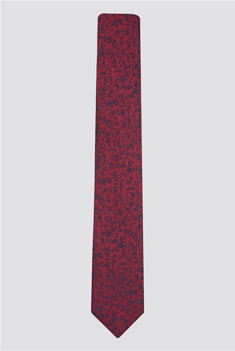 Limehaus Red Tonal Tie