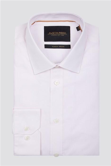 Austin Reed Pink Twill Shirt