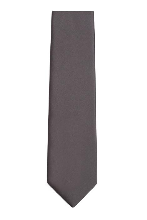 Racing Green Black Plain Tie