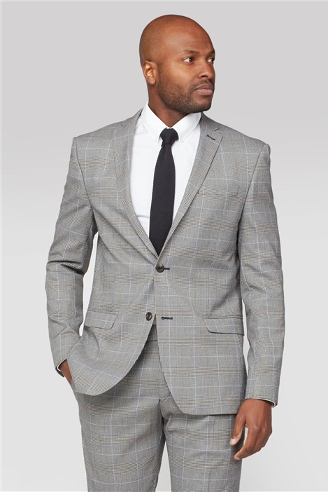 Limehaus Heritage Check Slim Fit Suit