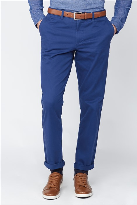 Navy Stretch Chino Trouser