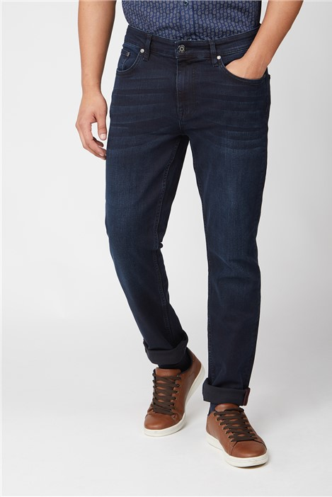 Ben Sherman Blue Black Slim Fit Jean