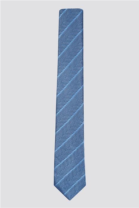 Ben Sherman Self Stripe Silk Tie