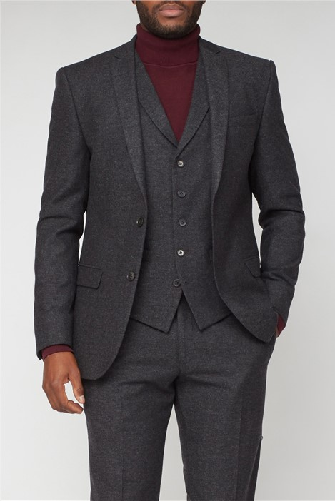 Limehaus Charcoal Donegal Slim Fit Suit
