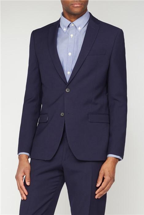 Ben Sherman Deep Blue Structure Suit