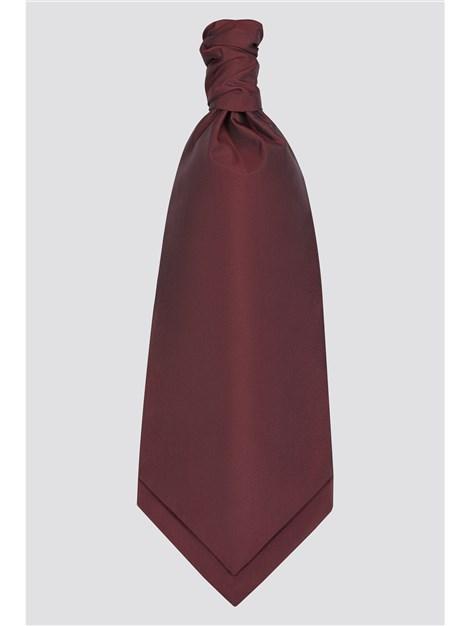 Scott & Taylor Wine Red Cravat