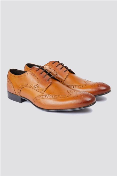 Dark Tan Brogues