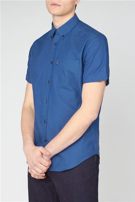 Ben Sherman Organic Cotton Short Sleeve Oxford Shirt