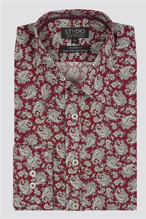 Jeff Banks Stvdio Paisley Print Shirt