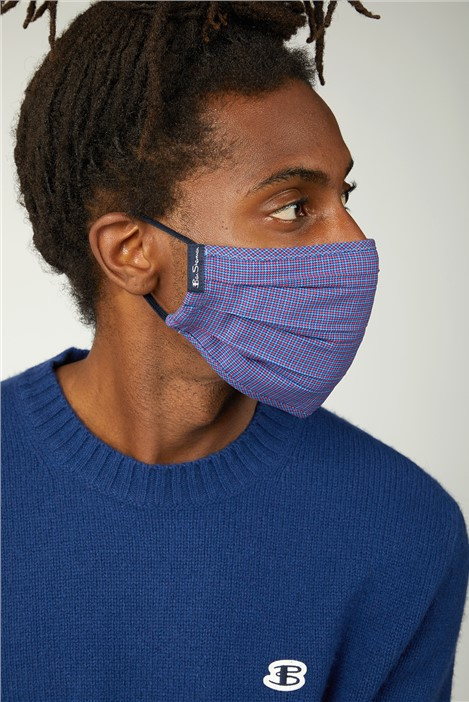 Ben Sherman 3 Pack Reusable Cotton Face Masks