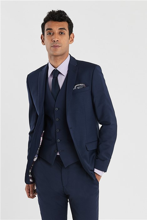 Ted Baker Blue Slim Fit Stretch Suit